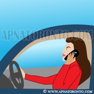 phone rings while driving