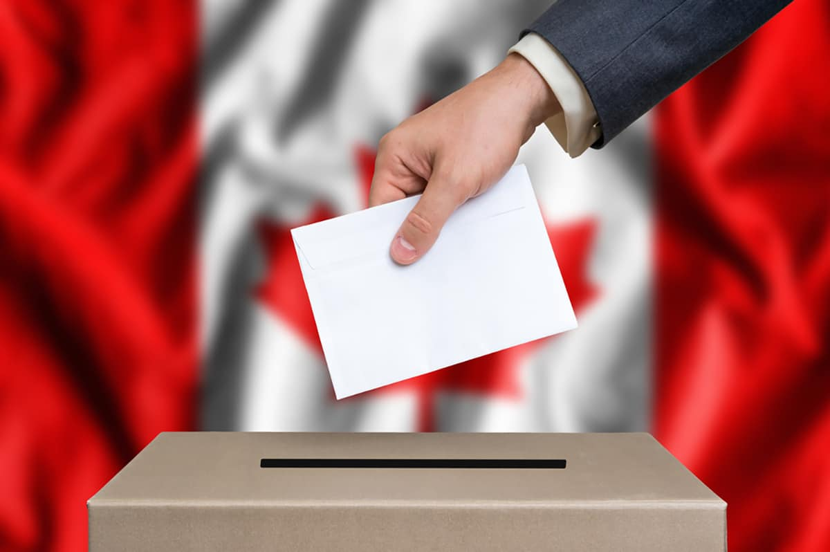 Canadians vote in elections