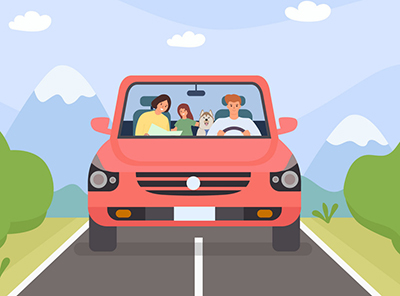 Driving Safely with a Pet